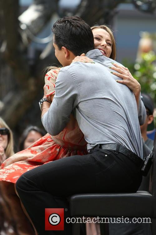 Stacey Keibler and Mario Lopez 3