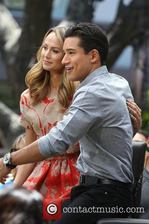 Stacey Keibler and Mario Lopez 5