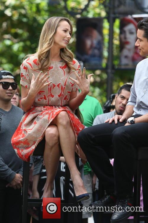 Stacey Keibler and Mario Lopez 6