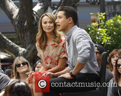 Stacy Kiebler and Mario Lopez 2