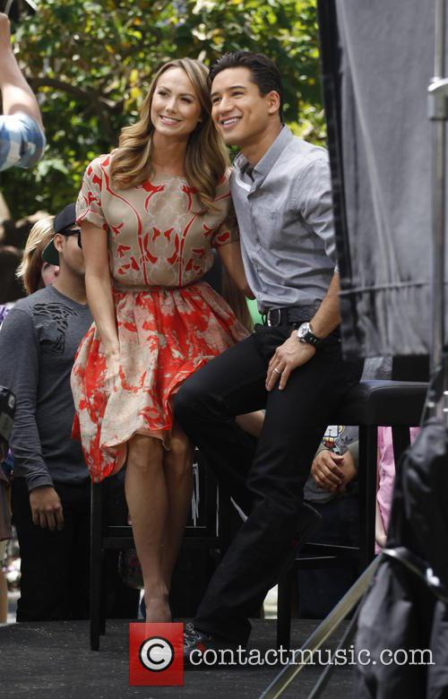 Stacy Kiebler and Mario Lopez 4