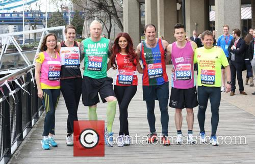 Amanda Mealing, Kelly Sotherton, Iwan Thomas, Amy Childs, Andrew Strauss, James Toseland, Mike Bushell