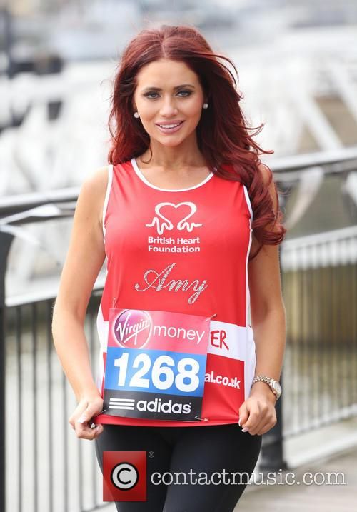 amy childs virgin london marathon celebrities 3611735