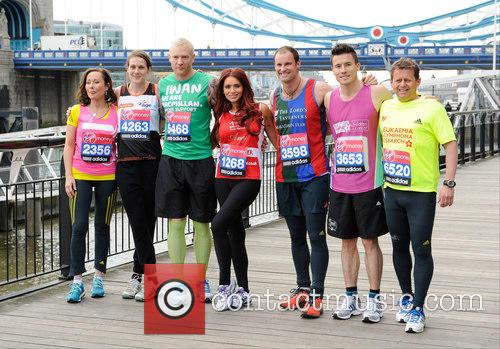 Amanda Mealing, Amy Childs, Andrew Strauss, James Toseland, Euan Thomas, Mike Bushell and Kelly Sotherton 8