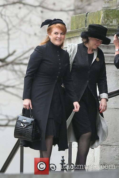 Sarah Ferguson, Duchess Of York and Guests 3