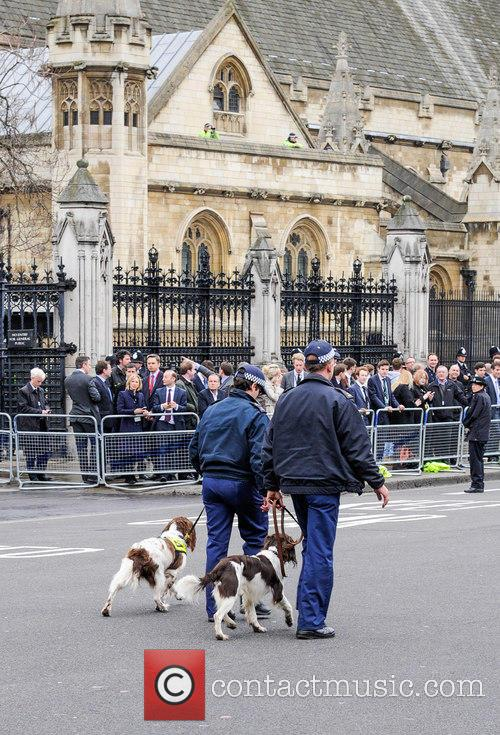 atmosphere margaret thatchers funeral 3611281