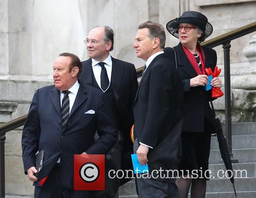 Margaret Thatcher, Andrew Neil, Michael Portillo, St Pauls Cathedral