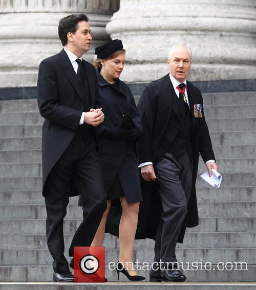 Margaret Thatcher, Ed Milliband and Justine Thornton 2