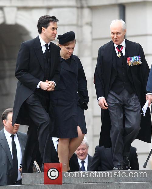 Margaret Thatcher, Ed Milliband and Justine Thornton 3