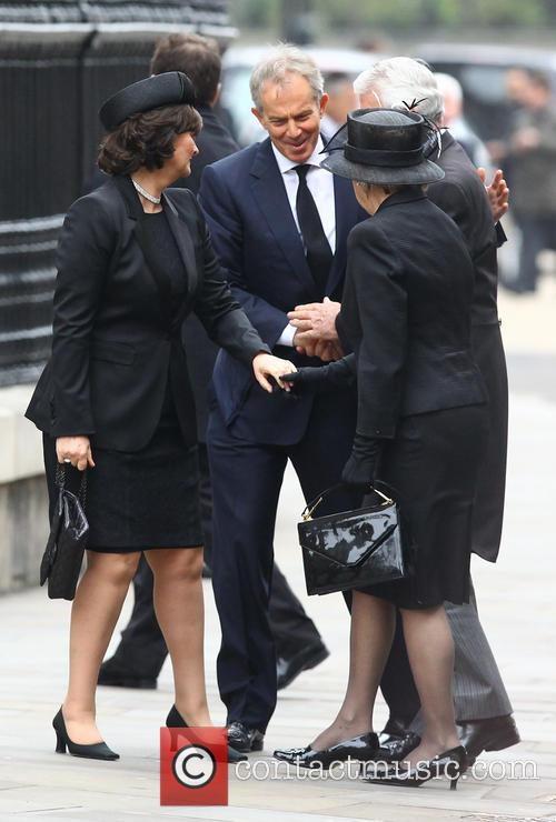 John Major, Norma Major, Tony Blair and Cherie Blair 5