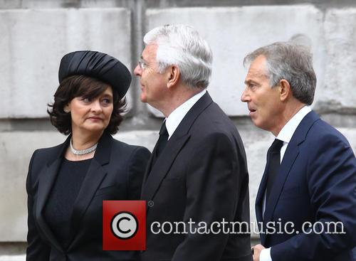 John Major, Tony Blair and Cherie Blair 2