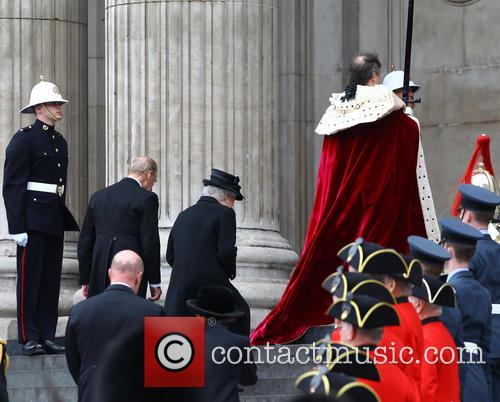 Queen Elizabeth II, Prince Philip, Duke of Edinburgh, St Pauls Cathedral