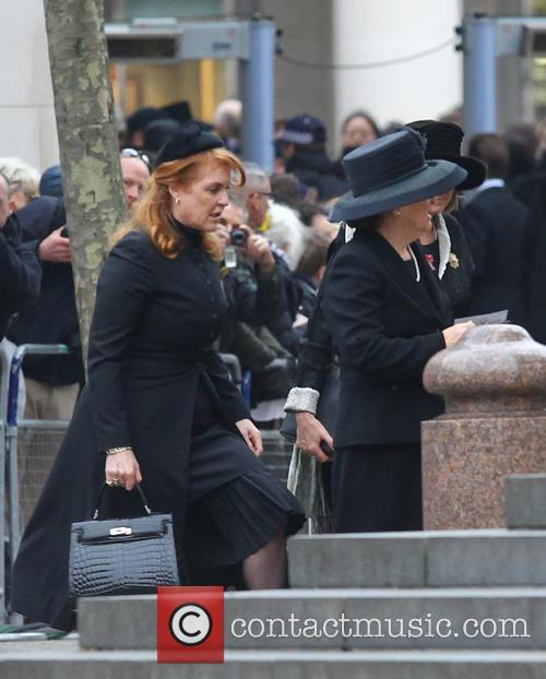 Sarah Ferguson, Duchess Of York and Guests 6