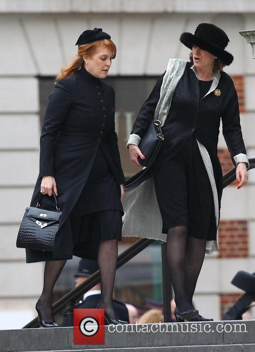 Sarah Ferguson, Duchess Of York and Guests 7