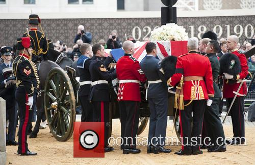 The Funeral of Margaret Thatcher - general views...