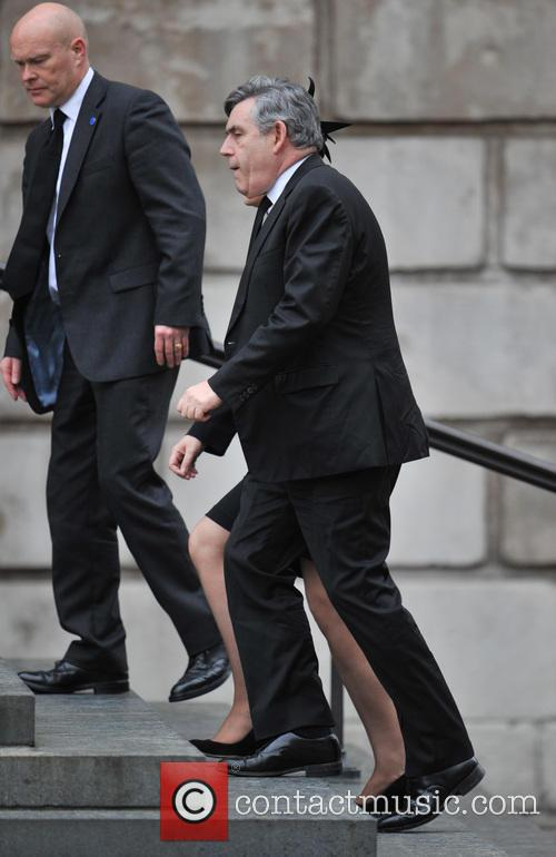 Gordon Brown and Wife Sarah 5