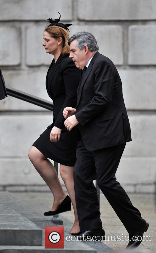 Gordon Brown and Wife Sarah 6
