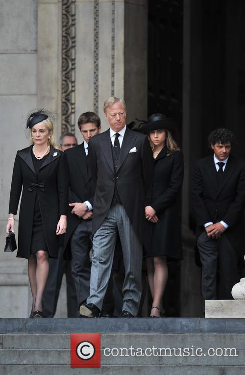 Cathedral, Marco Grass, Sarah Thatcher, Mark Thatcher, Michael Thatcher, Amanda Thatcher and Margaret Thatcher 3