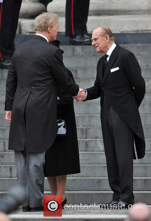 Prince Philip and Mark Thatcher 1