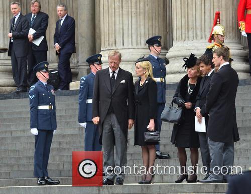 Margaret Thatcher and Mark Thatcher 2
