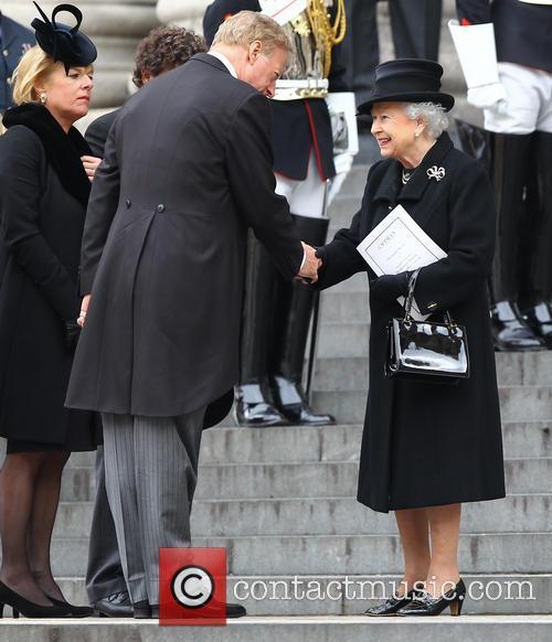Hm Queen Elizabeth, Mark Thatcher, Carol Thatcher and Queen Elizabeth Ii 3