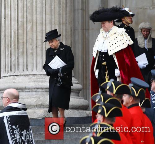 HM Queen Elizabeth, Queen Elizabeth II, St Pauls Cathedral