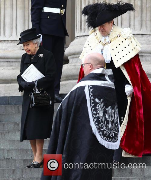 Margaret Thatcher, HM Queen Elizabeth, St Pauls Cathedral