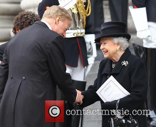 Margaret Thatcher, HM Queen Elizabeth, Mark Thatcher, St Pauls Cathedral