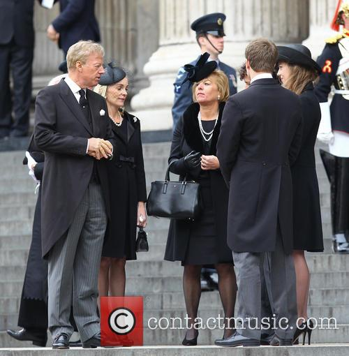 Mark Thatcher, Sarah Jane Russell, Carol Thatcher, Michael Thatcher and Amanda Thatcher 2