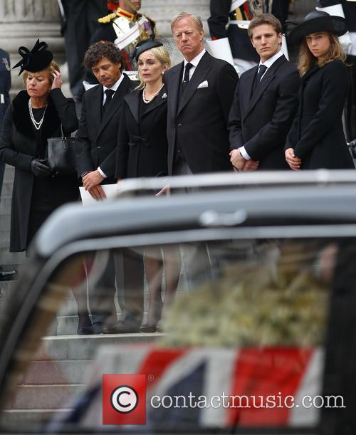 Mark Thatcher, Sarah Jane Russell, Michael Thatcher, Amanda Thatcher, Carol Thatcher and Marco Grass 2