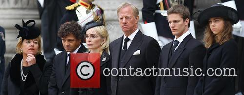 Mark Thatcher, Sarah Jane Russell, Michael Thatcher, Amanda Thatcher, Carol Thatcher and Marco Grass 1