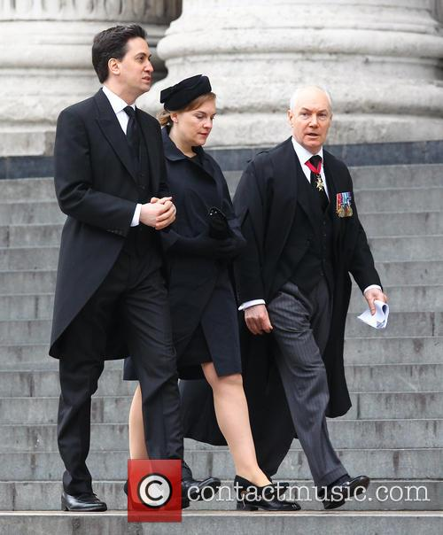 Margaret Thatcher, Ed Milliband, Justine Thornton, St Pauls Cathedral