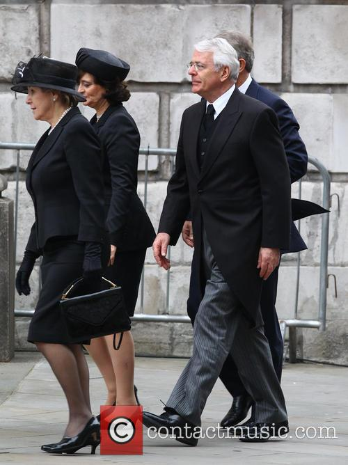 John Major, Norma Major, Tony Blair and Cherie Blair 8