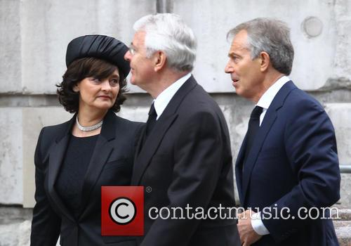 John Major, Tony Blair and Cherie Blair 7