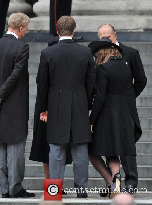 Mark Thatcher, Prince Philip, Queen Elizabeth Ii and Amanda Thatcher 6