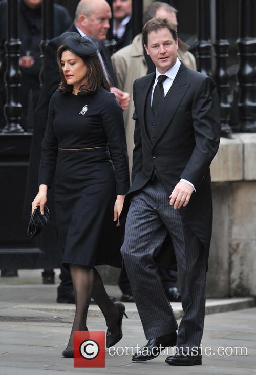 Margaret Thatcher, Nick Clegg and Miriam Gonzalez Durantez 3