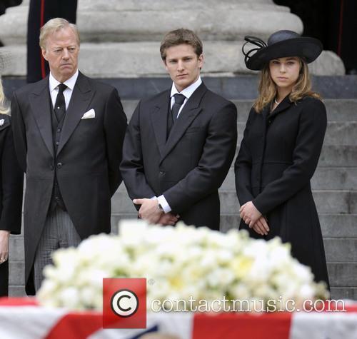 Margaret Thatcher, Mark Thatcher, Michael Thatcher and Amanda Thatcher 2