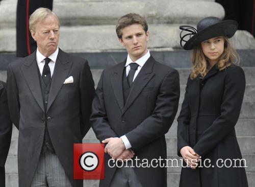 Margaret Thatcher, Mark Thatcher, Michael Thatcher and Amanda Thatcher 3