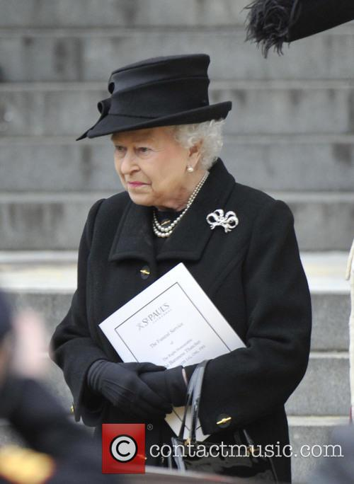 queen elizabeth ii margaret thatchers funeral 3612241