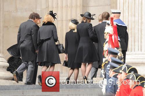Carol Thatcher, Mark Thatcher and Amanda Thatcher 2