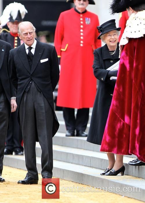 Prince Philip, Duke Of Edinburgh and Hrh Queen Elizabeth Ii 1