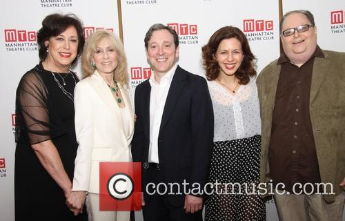 Lynne Meadow, Judith Light, Jeremy Shamos, Jessica Hecht and Richard Greenberg 3