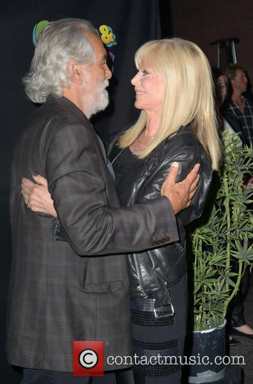 Tommy Chong and Britt Ekland 4
