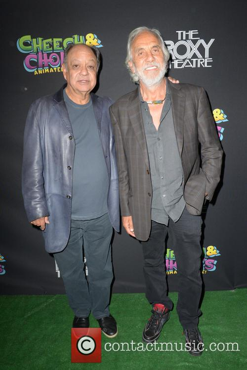 Shelby Chong and Cheech Marin 2