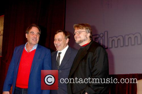 Oliver Stone, Sam Raimi and Guillermo Del Toro 5