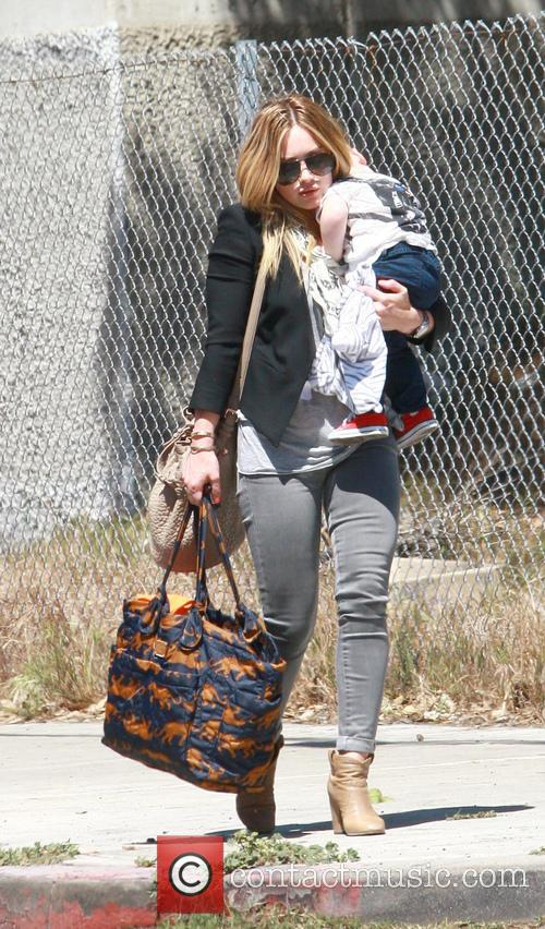 Hilary Duff and Son - Luca Cruz Comrie 2