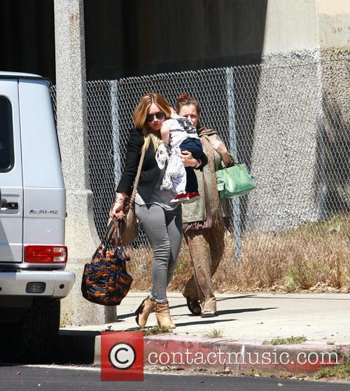 Hilary Duff and Son - Luca Cruz Comrie 4