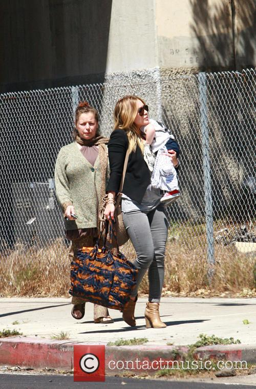 Hilary Duff and Son - Luca Cruz Comrie 6