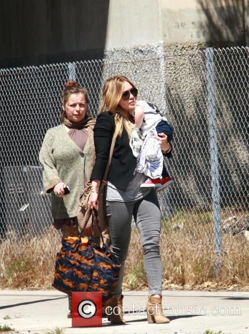 Hilary Duff and Son - Luca Cruz Comrie 8