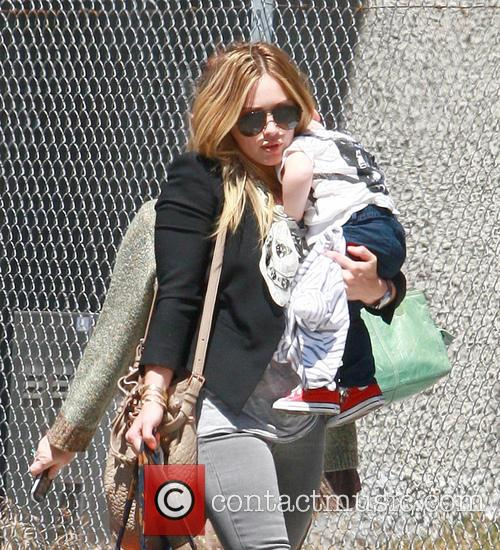Hilary Duff and Son - Luca Cruz Comrie 10